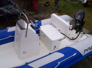 Zodiac Touring 500 RIB Suzuki DF40hp & trailer (click for enlarged image)